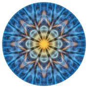 Warmth in the Cold Mandala by Beth Sawickie