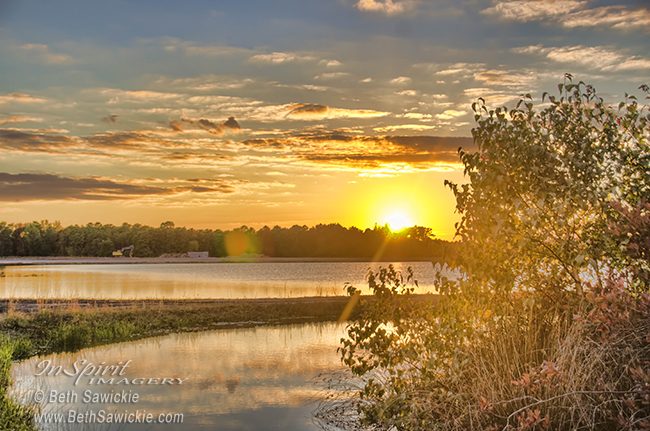 Whitesbog Sunset Oct. 12th by Beth Sawickie http://www.bethsawickie.com/sunset-walk-at-whitesbog-oct12th