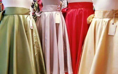 Four New Taffeta Skirts