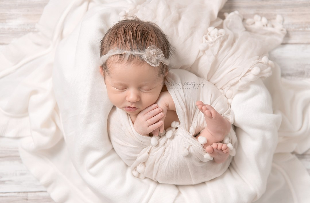 baby girl makes 3 {north charlotte newborn photographer}