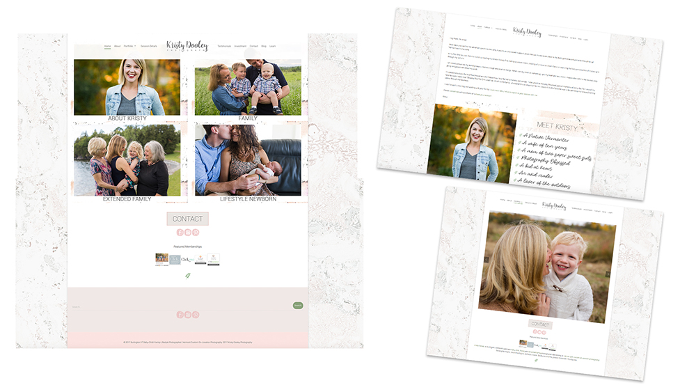 brand refresh+website design : kristy dooley {beth wade photography charlotte}