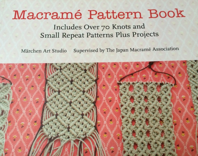 Macramé Pattern Book cover
