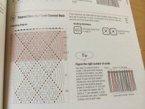 Chart inside the Macramé Pattern Book