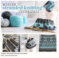Modern Stranded Knitting Techniques class