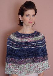 Delores Cape, mixed color way