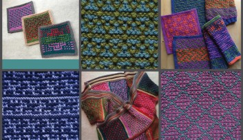 Piecing Together Mosaic Knitting