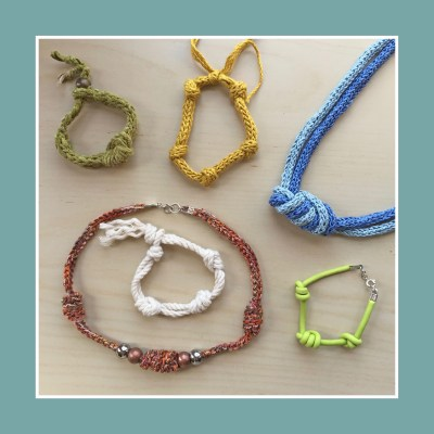 Overhand knot projects
