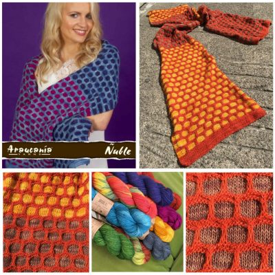 ImagiKnit Project of the Month, August: Ariana Wrap