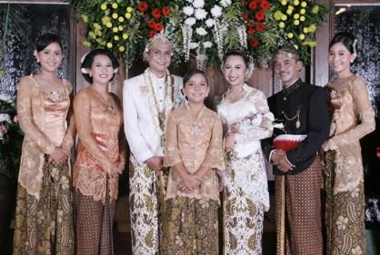 My daughter wedding, Jogjakarta