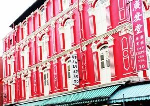- A corner at China Town, Singapore -
