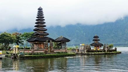 - The Pura Ulun Danu, Bedugul, Bali -