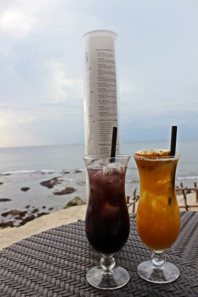 - Sunset at Rock Bar, Jimbaran, Bali -