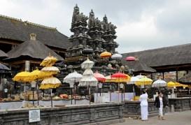 Balinese Woman at Besakih Temple, Bali