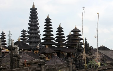 Another angle of Besakih Temple, Bali