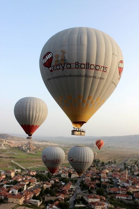 Memorable day. Hot Air Balloon, Cappadocia, Turkey