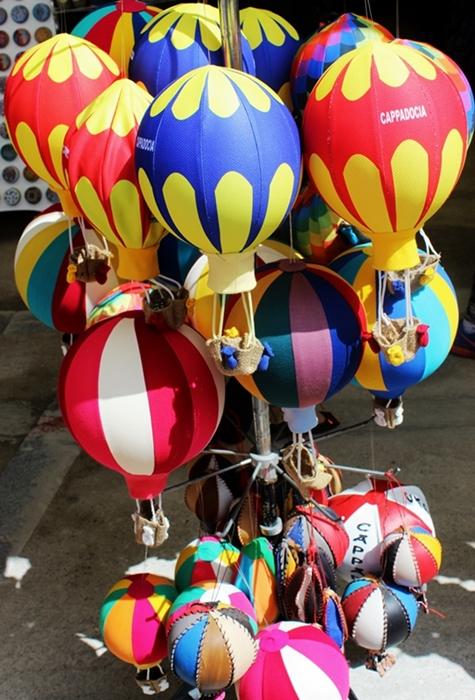 The balloon souvenirs @ Kaymakli Underground City, Turkey