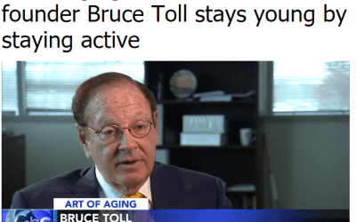 Bruce E. Toll's Interview with ABC Action News on: The Art of Aging
