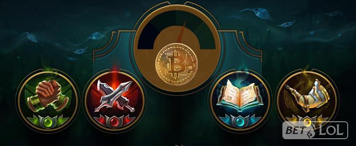 BetLoL.eu - LoL Bitcoin betting odds