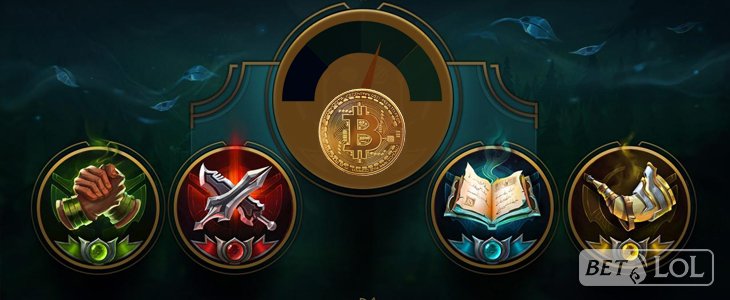 BetLoL.eu - LoL Bitcoin betting odds