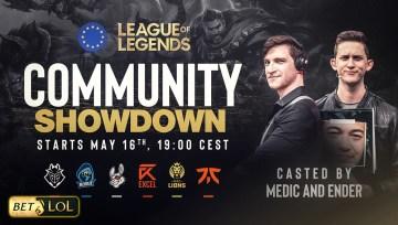 LoL Community Showdown Invites European Amateur Players