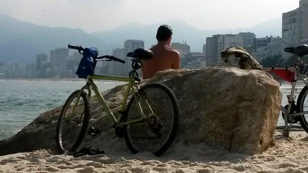 Mesmo filme noutra praia - Arpoador