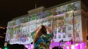 Copacabana Palace mapping