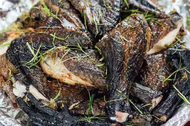 黒鶏肉のはちみつ焼き