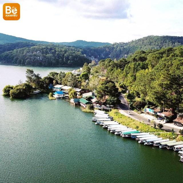 ダラット、チュエンラム湖(Tuyen Lam Lake)旅行の経験