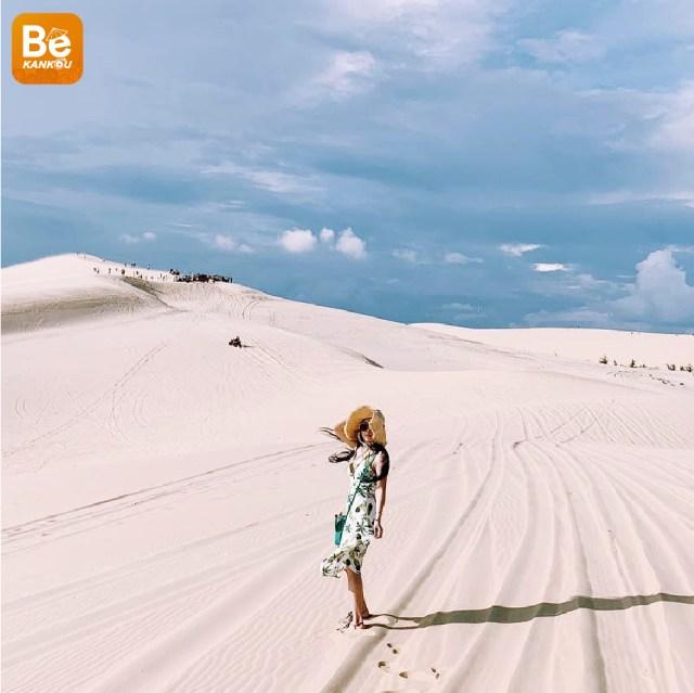 小サハラ砂漠のようなバウトラン砂丘-013