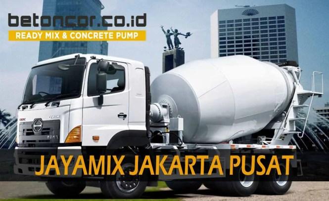 harga beton jayamix jakarta pusat