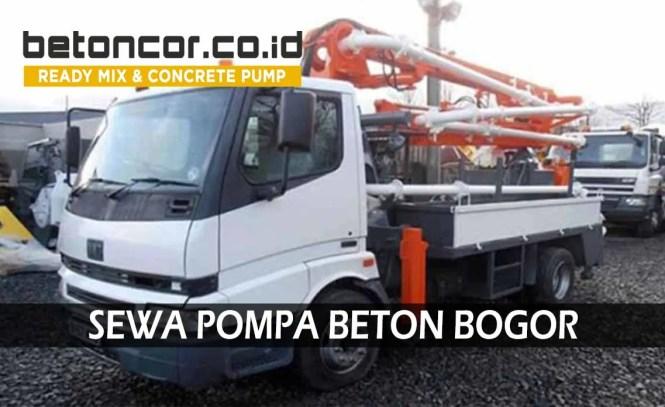 harga pompa beton concrete pump bogor