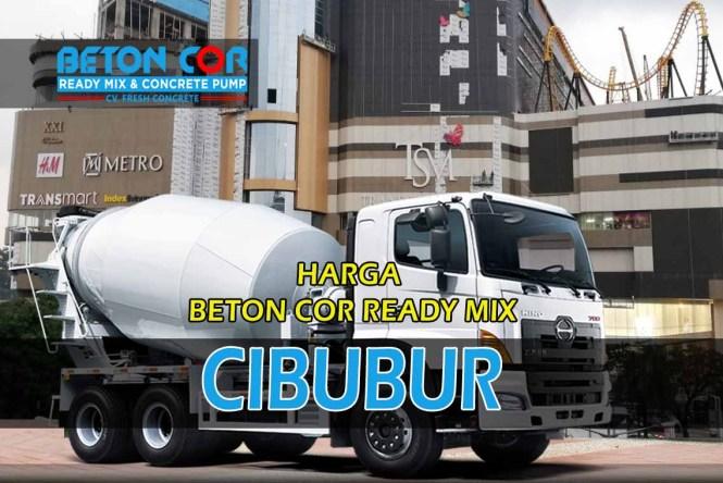 harga beton cor ready mix cibubur
