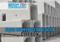 harga beton u ditch cirebon