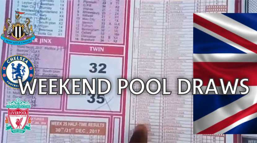 Weekend Pool Draws Predictions: Banker Winning Strategy