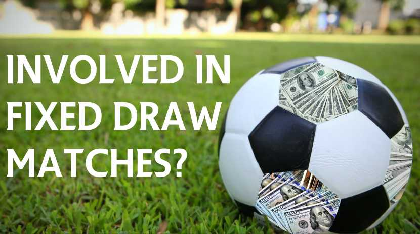 Using Fixed Matches To Get 100% Draw Prediction