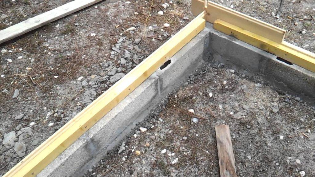 un abri de jardin beton