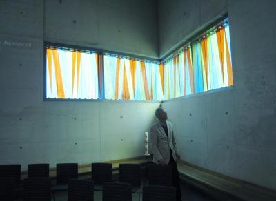 Turebergskyrkan hörnfönster