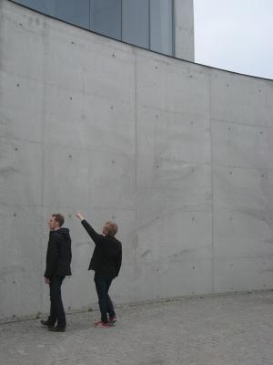 Turebergskyrkan platsgjuten yttervägg