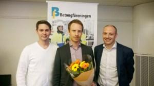Från vänster: Richard Malm, Henrik Wenngren och Johan Söderqvist.