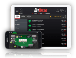 BetOnline Poker Phone app