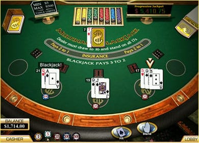 Play Free Blackjack Online Or For Real Money At Lucky Red ...