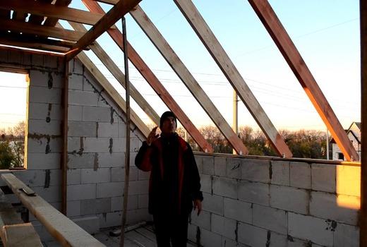 крыша без армопояса фото более глубокое