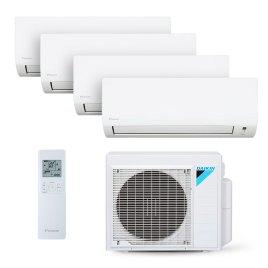 Ar Condicionado Multi Split Inverter Daikin Advance 3X9000(HW) + 1X12000(HW) Btu/s Quente/Frio 220v 1F