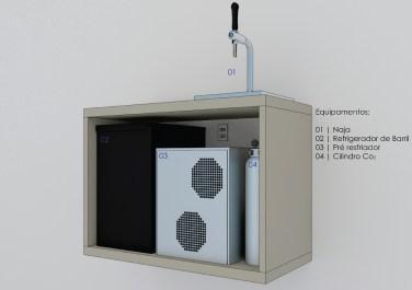 Planta Refrigerador de Barril PDF-02