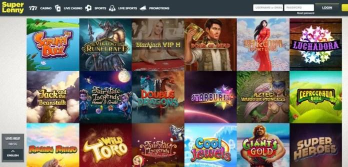 superlenny mobile casino