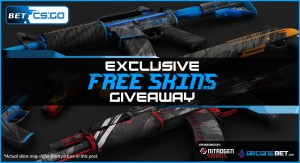 Exclusive Free Skins Giveaway - sponsored by Nitrogen Sports and Arcanebet