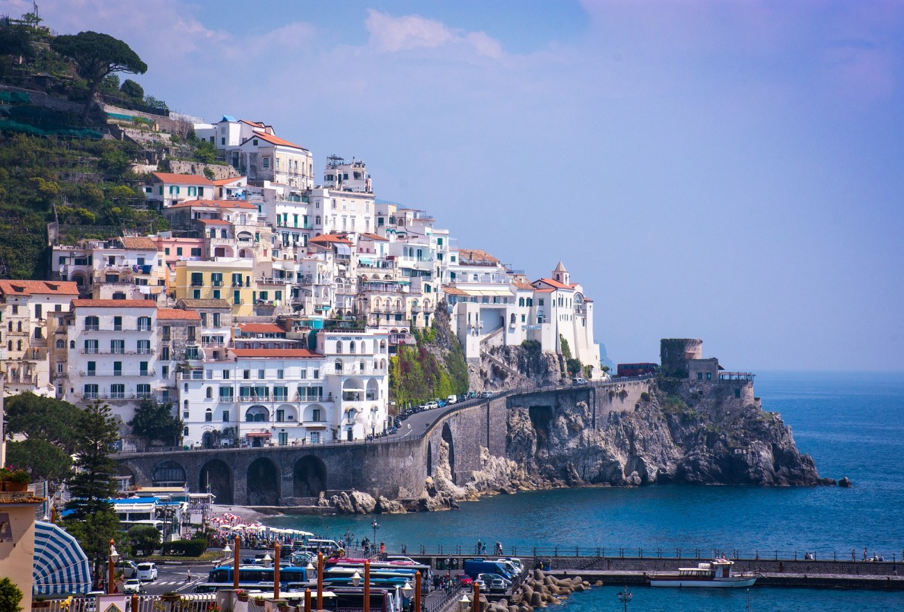 Enjoy the beautiful city of Amalfi from every corner