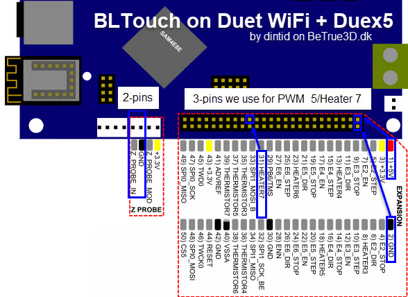 Bltouch On Duet Wifi  U0026 Reprapfirmware  U2013 Betrue3d