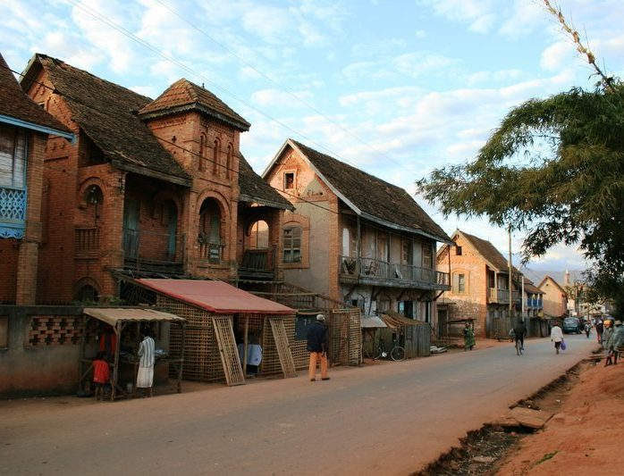 Ambalavao town