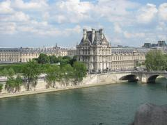 Seine River from the Left Bank.